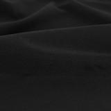10oz Organic Cotton Duck Canvas - Black - 1/2 meter