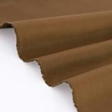 9oz Brushed Bull Denim - Walnut | Blackbird Fabrics
