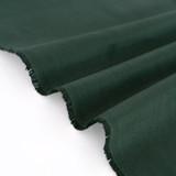 9oz Brushed Bull Denim - Hunter Green | Blackbird Fabrics