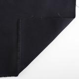 9oz Brushed Bull Denim - Black | Blackbird Fabrics