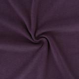 Tencel & Organic Cotton 2x2 Ribbing - Plum | Blackbird Fabrics