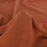 Tencel & Organic Cotton French Terry - Rust | Blackbird Fabrics