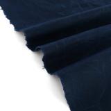 Waxed Cotton Canvas - Navy | Blackbird Fabrics
