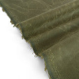 Waxed Cotton Canvas - Military | Blackbird Fabrics