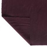 Brushed Melton Wool Blend Coating - Mulberry | Blackbird Fabrics