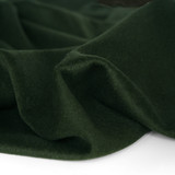 Brushed Melton Wool Blend Coating - Deep Forest | Blackbird Fabrics