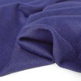 Brushed Melton Wool Blend Coating - Blueberry | Blackbird Fabrics