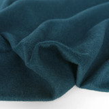 Brushed Melton Wool Blend Coating - Teal | Blackbird Fabrics