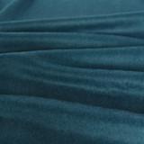 Brushed Melton Wool Blend Coating - Teal   Blackbird Fabrics