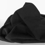 4.5oz Sandwashed Cotton - Black   Blackbird Fabrics