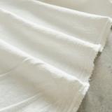 4.5oz Sandwashed Cotton - Ivory | Blackbird Fabrics