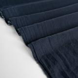 4.5oz Sandwashed Cotton - Navy | Blackbird Fabrics