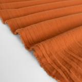 4.5oz Sandwashed Cotton - Rust | Blackbird Fabrics