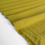 4.5oz Sandwashed Cotton - Chartreuse | Blackbird Fabrics