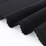 Textured Tencel Viscose - Black | Blackbird fabrics