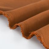 Textured Tencel Viscose - Cinnamon | Blackbird fabrics