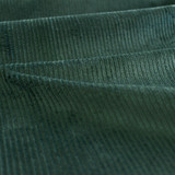 Stretch Cotton Corduroy - Midnight Spruce | Blackbird Fabrics