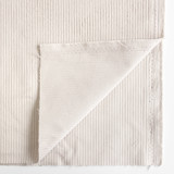 Stretch Cotton Corduroy - Alabaster | Blackbird Fabrics