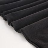 Hemp & Organic Cotton Jersey - Black | Blackbird Fabrics