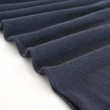 Hemp & Organic Cotton Jersey - Navy | Blackbird Fabrics
