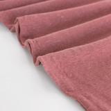 Hemp & Organic Cotton Jersey - Dusty Rose | Blackbird Fabrics
