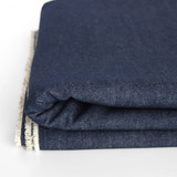 8oz Non-Stretch Washed Denim - Indigo | Blackbird Fabrics