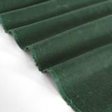 Waxed Cotton Canvas - Hunter Green | Blackbird Fabrics