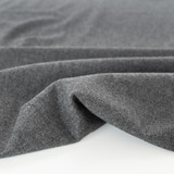 Deadstock Wool Blend Suiting - Heather Grey   Blackbird Fabrics