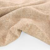 Deadstock Melange Wool Blend Suiting - Heather Camel   Blackbird Fabrics