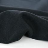 Deadstock 100% Wool Coating - Black   Blackbird Fabrics