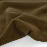 Deadstock Felted 100% Wool Coating - Marsh Brown   Blackbird Fabrics