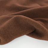 Deadstock Felted Wool Blend Coating - Chesnut   Blackbird Fabrics