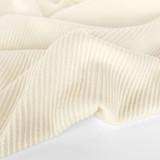Deadstock Twill Wool Blend Coating - Ivory   Blackbird Fabrics