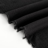 Rayon Dobby - Black   Blackbird Fabrics