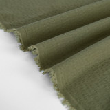 Rayon Dobby - Light Olive | Blackbird Fabrics