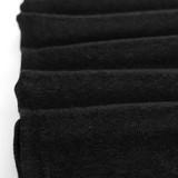 Lightweight Melange Sweater Knit - Black | Blackbird Fabrics