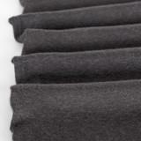 Lightweight Melange Sweater Knit - Charcoal | Blackbird Fabrics