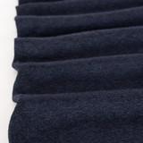 Lightweight Melange Sweater Knit - Navy | Blackbird Fabrics