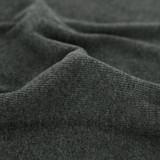 Organic Cotton 2x2 Ribbing - Heather Charcoal | Blackbird Fabrics