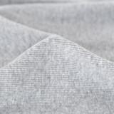 100% Organic Cotton Sweatshirt Fleece - Heather Grey | Blackbird Fabrics