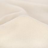 Organic Cotton 2x2 Ribbing - Vanilla | Blackbird Fabrics