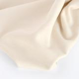 100% Organic Cotton Sweatshirt Fleece - Vanilla   Blackbird Fabrics