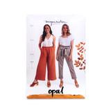 Opal Pants & Shorts by Megan Nielsen | Blackbird Fabrics