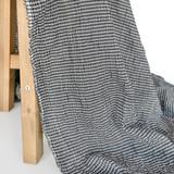 Japanese Tencel Cotton Mini Check - Black | Blackbird Fabrics