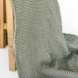 Japanese Tencel Cotton Mini Check - Forest | Blackbird Fabrics