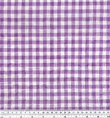 Gingham Japanese Cotton Voile - Violet | Blackbird Fabrics