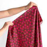 Floral Print Japanese Cotton Lawn - Pink/Hazel | Blackbird Fabrics