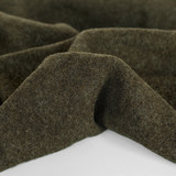 100% Boiled Wool Coating - Olive | Blackbird Fabrics