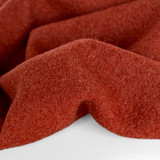 100% Boiled Wool Coating - Red Clay | Blackbird Fabrics