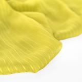 Striped Poly Chiffon - Limeade | Blackbird Fabrics
